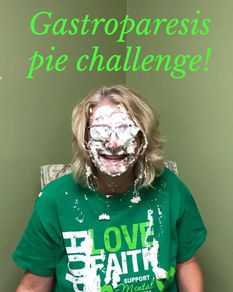 Gastroparesis Awareness month, pie chall