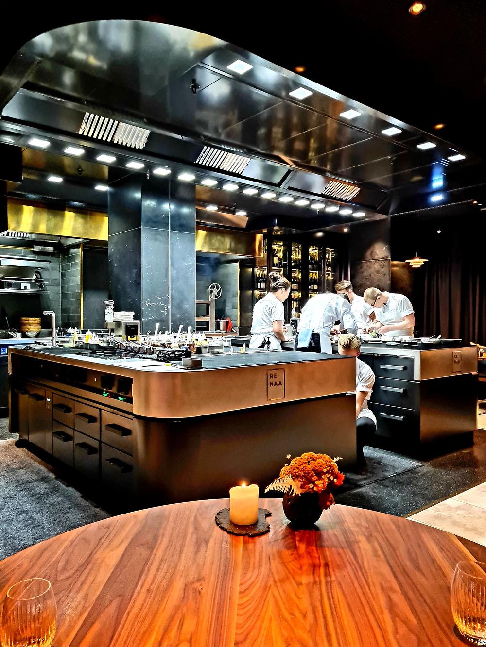 kitchen renaa gourmet michelin table