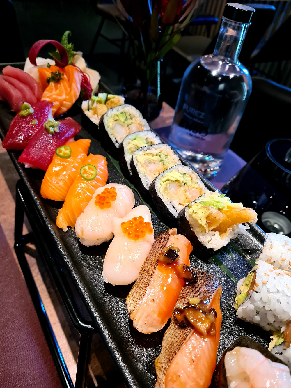 sushi, sashimi, stavanger, sabi enso, roger joya, omakase