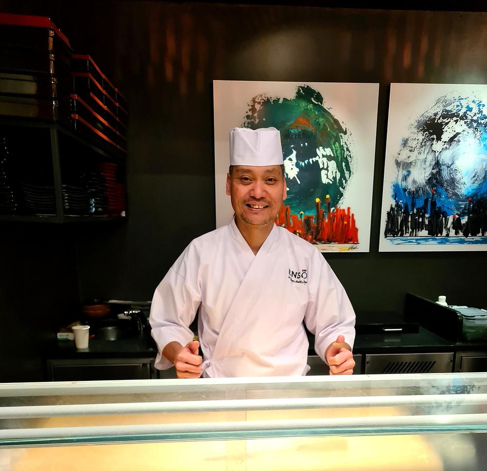 roger joya, sabi enso, omakase, sushi, michelin star, stavanger restaurant