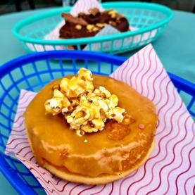 Popcorn Caramel Donut