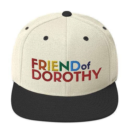 Friend Of Dorothy Rainbow Snapback