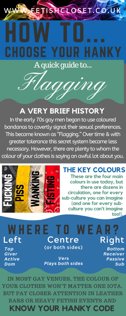 How to... Choose Your Hankey A quick guide to 'Flagging'