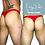 Thumbnail: Low Waist Solid Colour Men's Thong