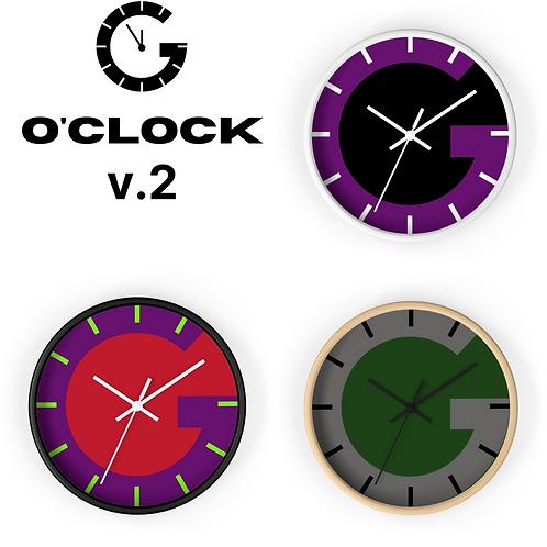 G O'Clock Wall clock Ver 2