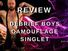 REVIEW – deBrief Boys Camouflage Singlet $24.00USD
