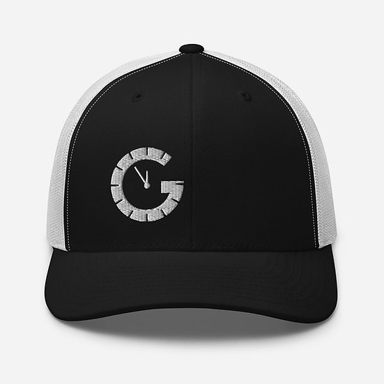 G o'clock Trucker Cap (white clock - all colour hats)
