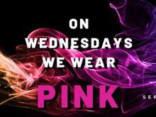 #OnWednesdaysWeWearPink – May 6th 2020