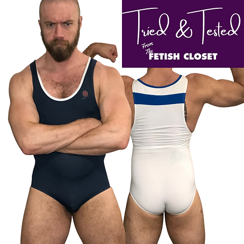 Butcher's Cut / Leotard Style Wrestling Singlet from Brave Person