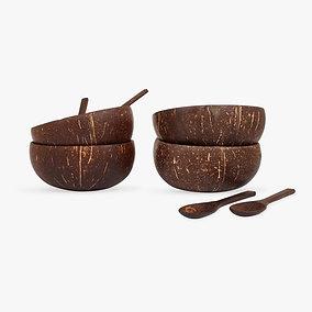 Original Coconut Bowls - Gaia's Store - Set of 4