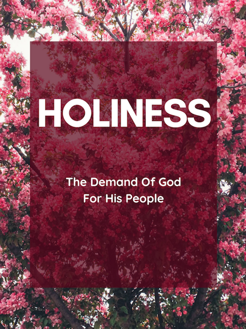 Book - HOLINESS