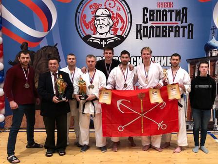 Успешное выступление петербуржцев на Всероссийских соревнованиях по Восточному боевому единоборству