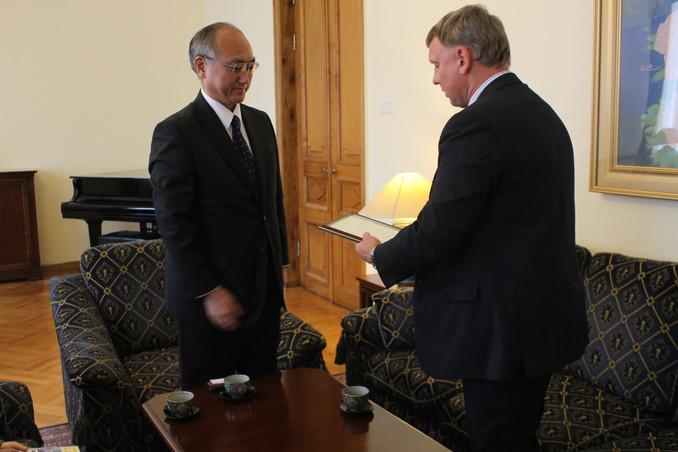 Культурная акция в Генеральном Консульстве Японии в Санкт-Петербурге