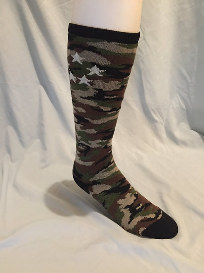 Women's Over-the-Calf Camo Sock