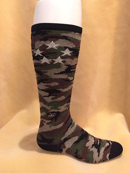 Men's Over-the-Calf Camo Sock