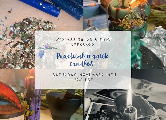 Practical Magick WERKshop - CANDLES