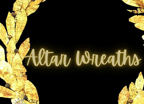 Altar Wreath - Winter Edition