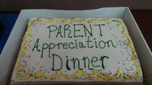 Parent Appreciation Dinner