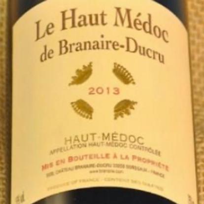 Le Haut Medoc de Brainaire-Ducru Bordeaux