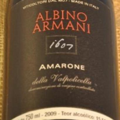 Amarone Albino Armani