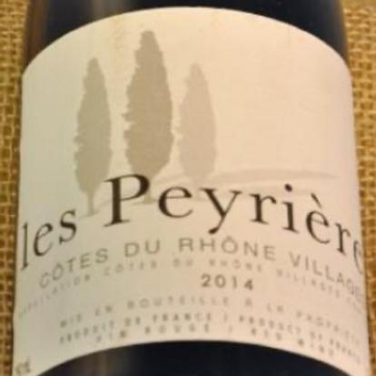 Cotês du Rhône Villages Les Peyrieres