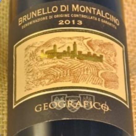 Brunello di Montalcino Geografico