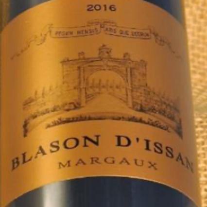 Blason D'Issan Margaux Bordeaux