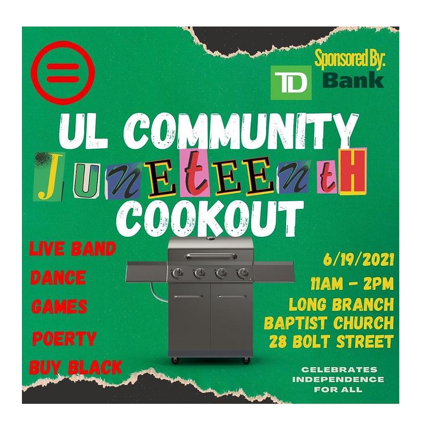 Community Juneteenth Cookout
