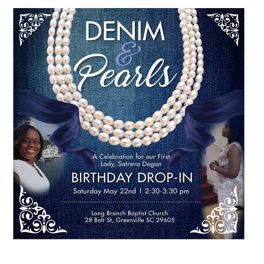 First Lady Birthday Drop-In