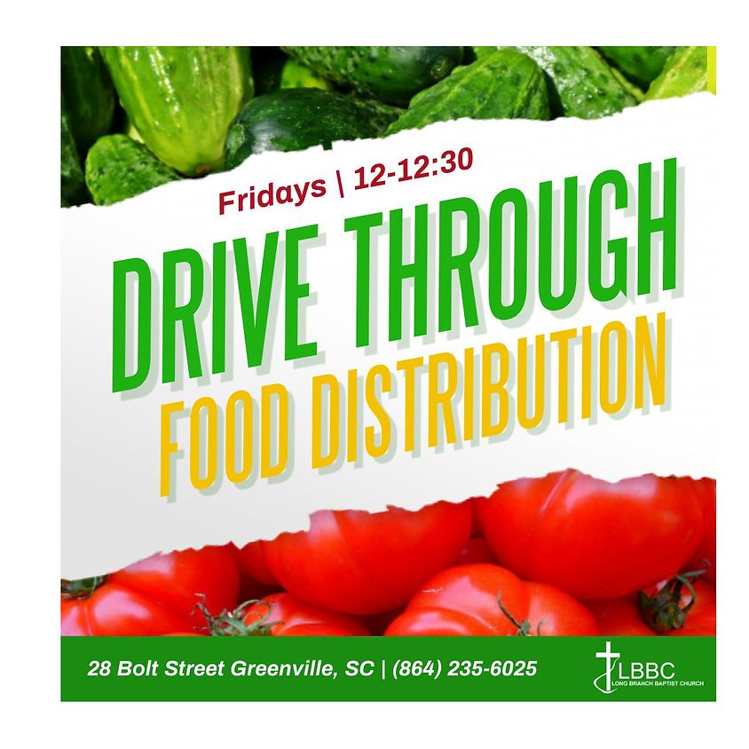 Drive-Thru Food Distribution