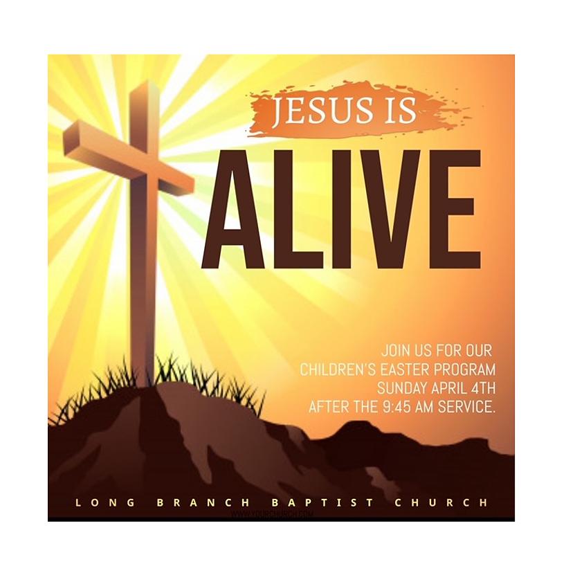 Annual Easter Program