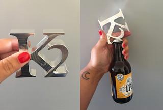 K2 Development Logotype, kapsylöppnare