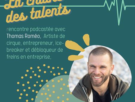 Rencontre avec Thomas - Sa vie, le cirque, la CNV... portrait d'un passionné inspirant !