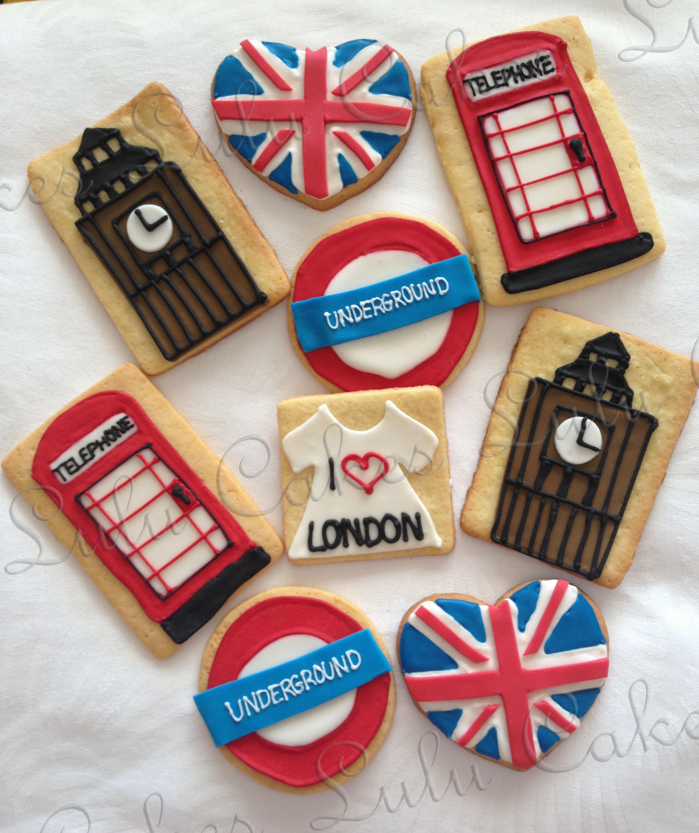 Bolachas de Londres