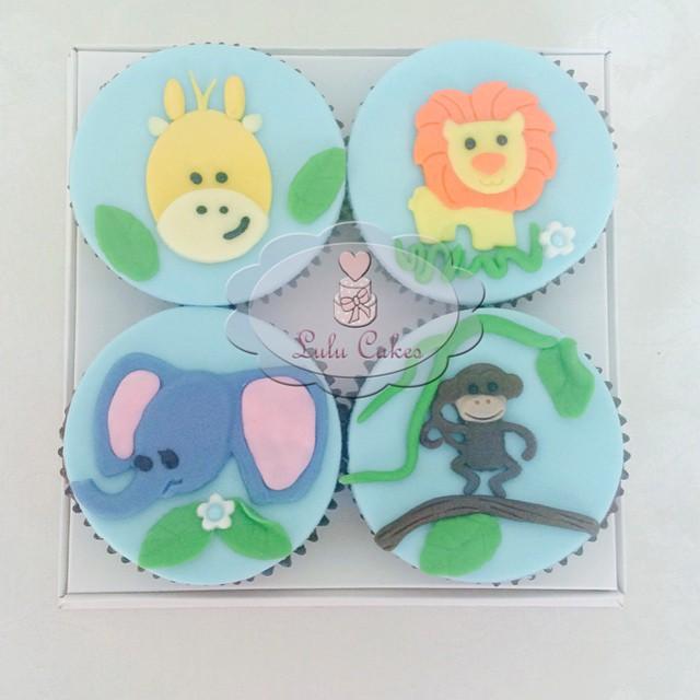 Cupcakes Safari Baby