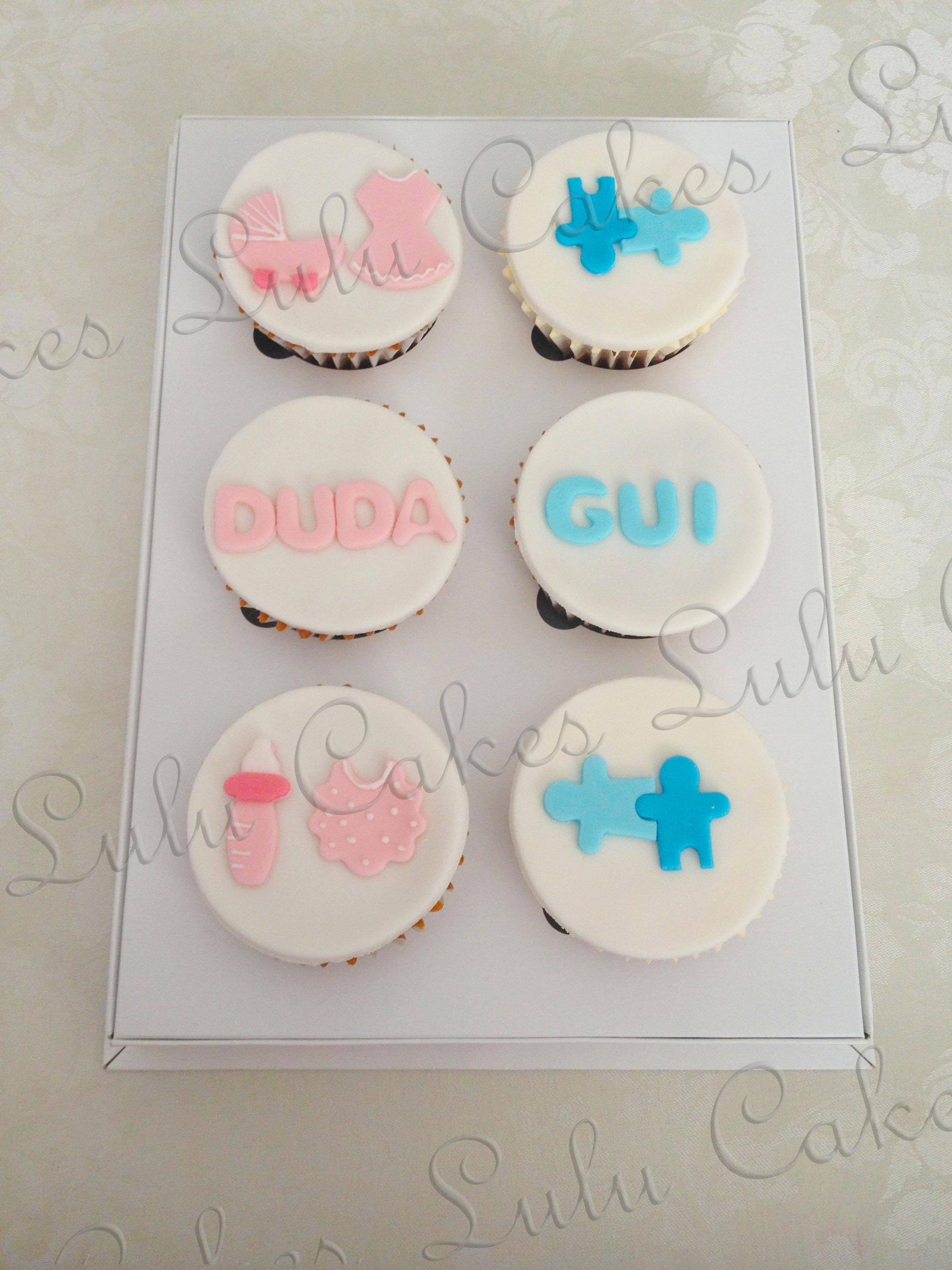 Cupcakes Gêmeos