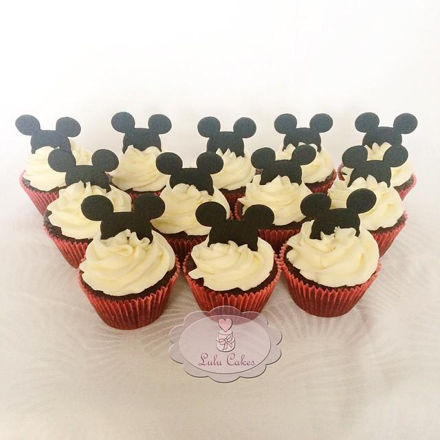 Cupcakes Twist Mickey