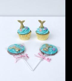 Sereia cupcakes