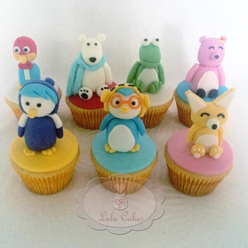 Cupcakes Pororó 3D
