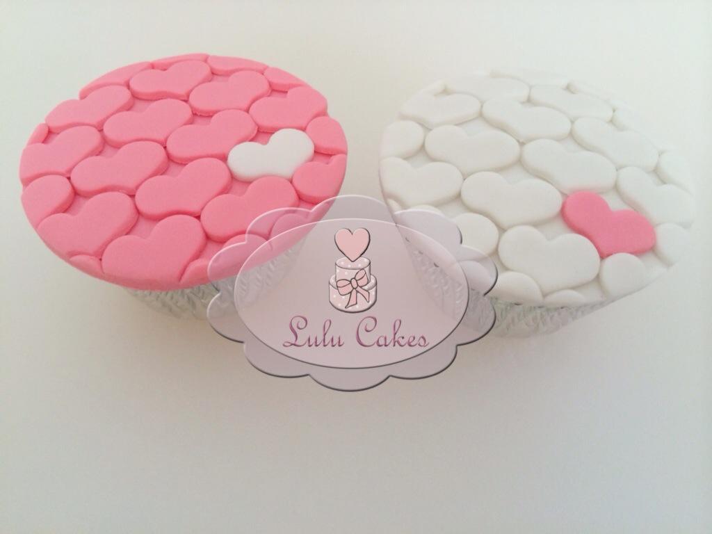 Cupcakes Corações