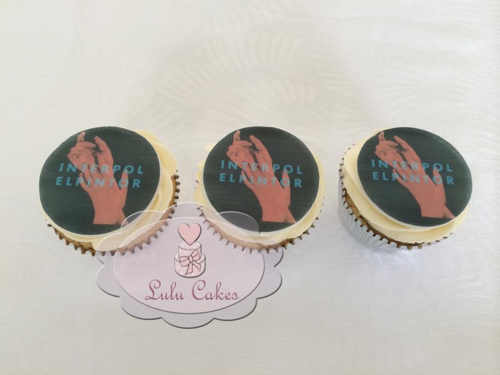 Cupcakes com Papel de Arroz