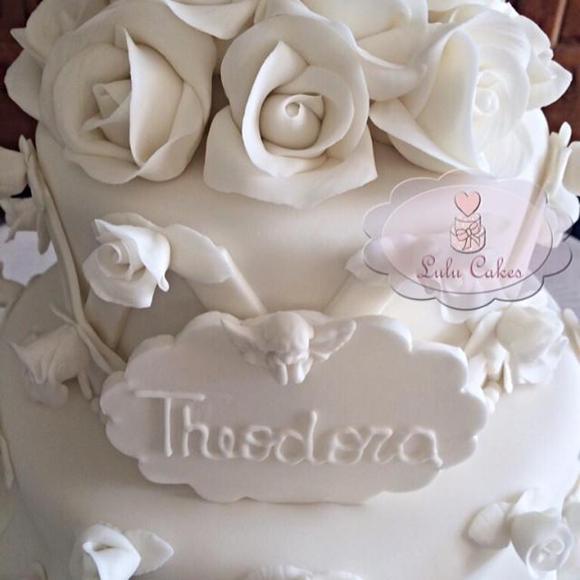 Detalhes rosas e anjinho Theodora