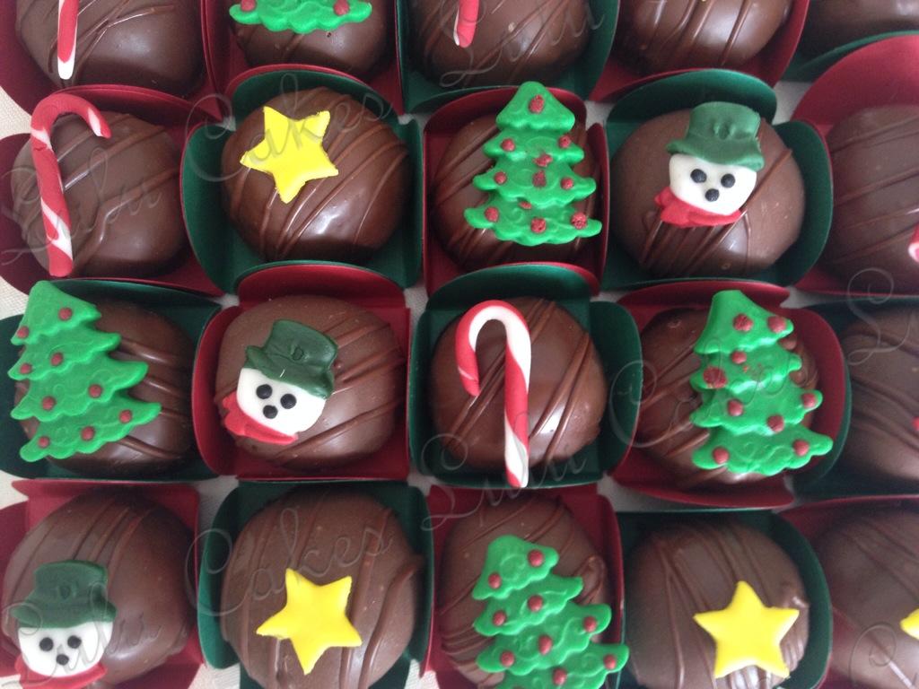 Cakeballs Natal