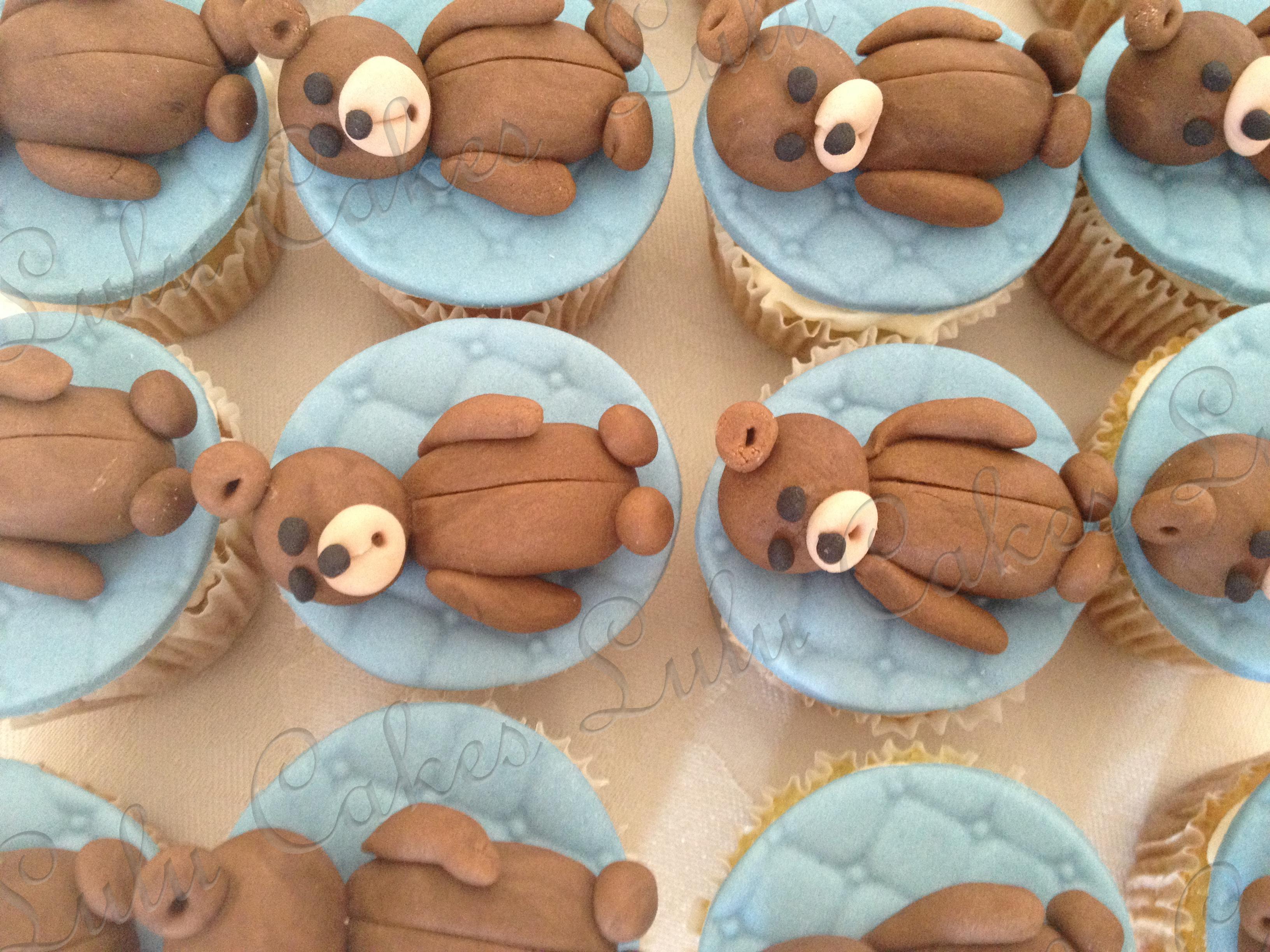 Cupcakes Ursinho 3D