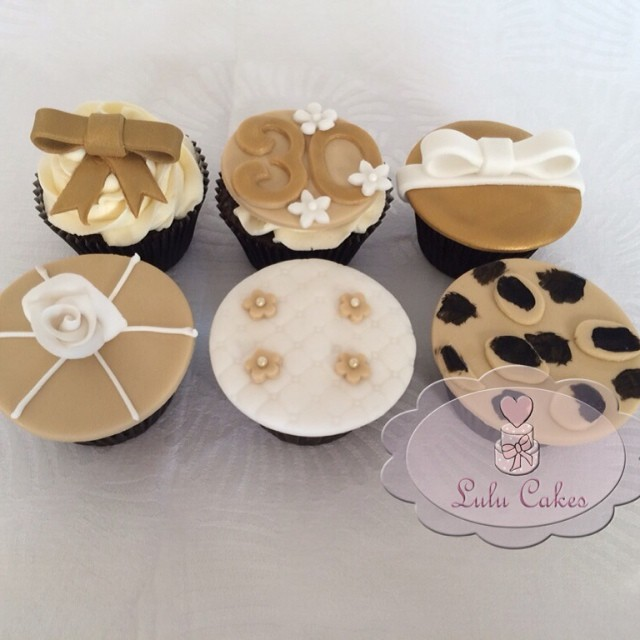 Cupcakes 30 anos