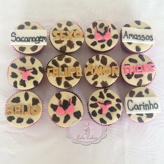 Cupcakes Chá de Lingerie 2