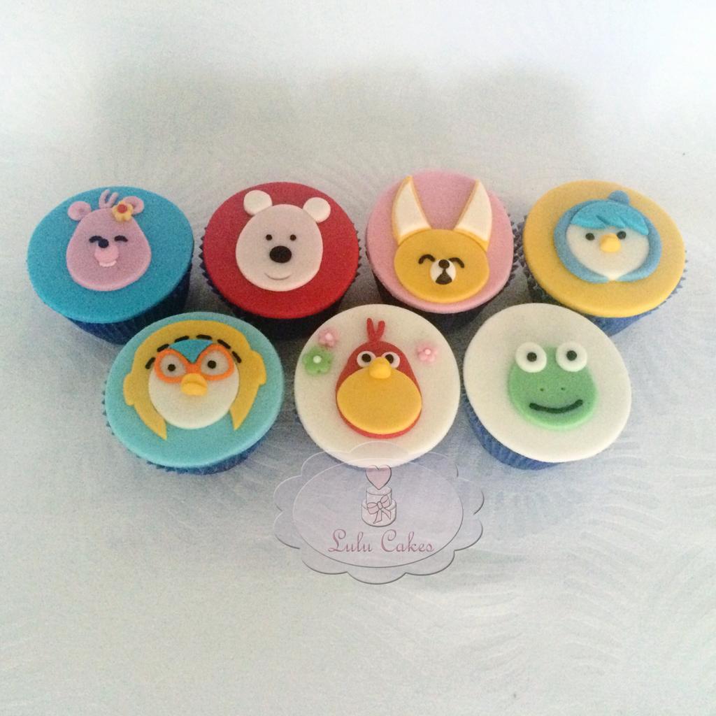 Cupcakes pororó 2D