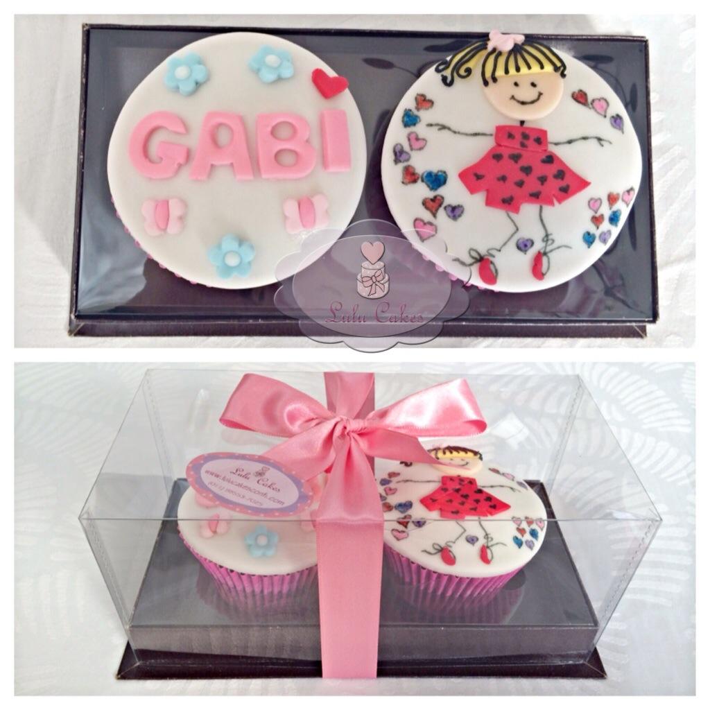 Cupcakes Menina