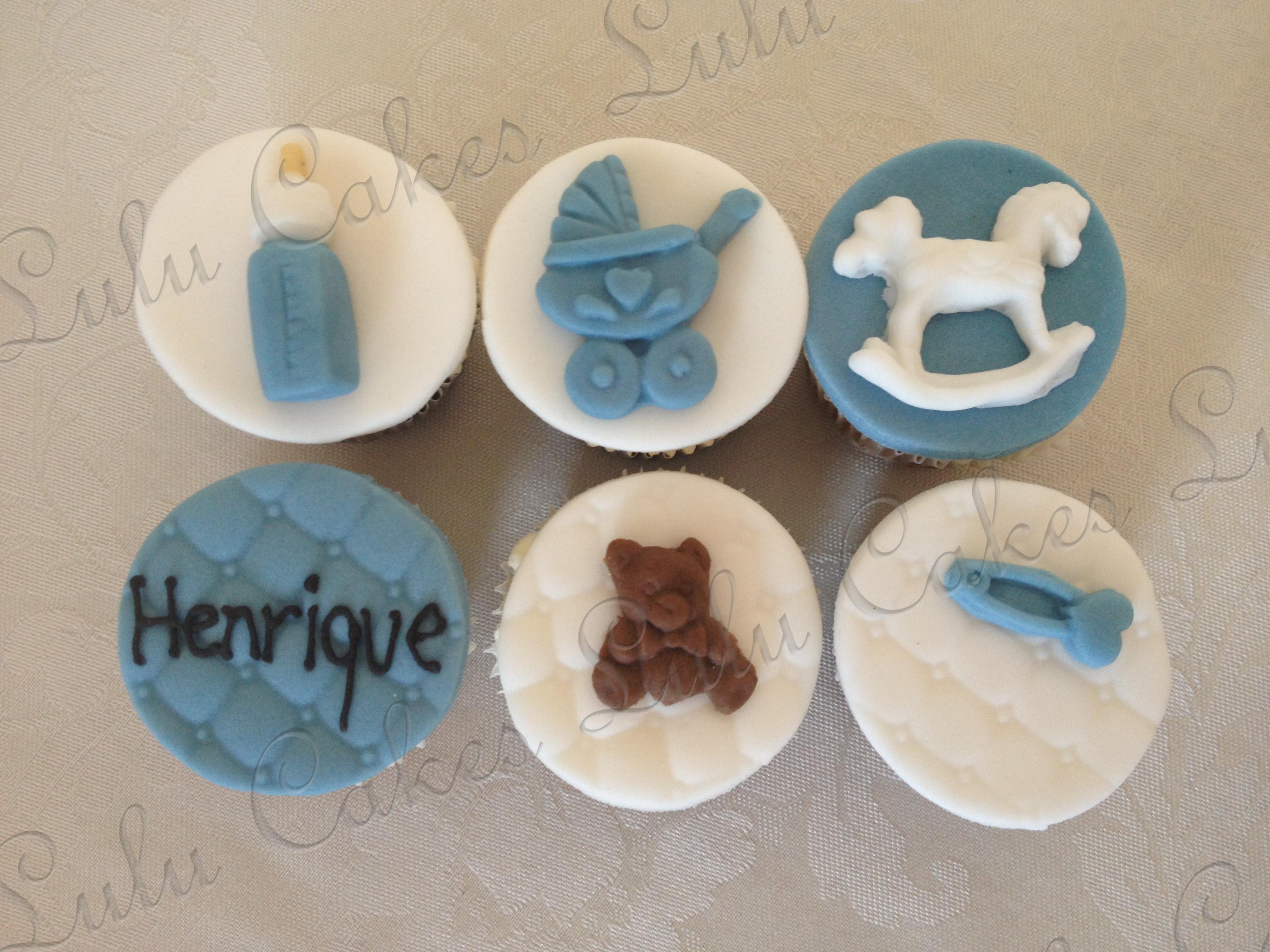 Cupcakes Chá de Bebê 1