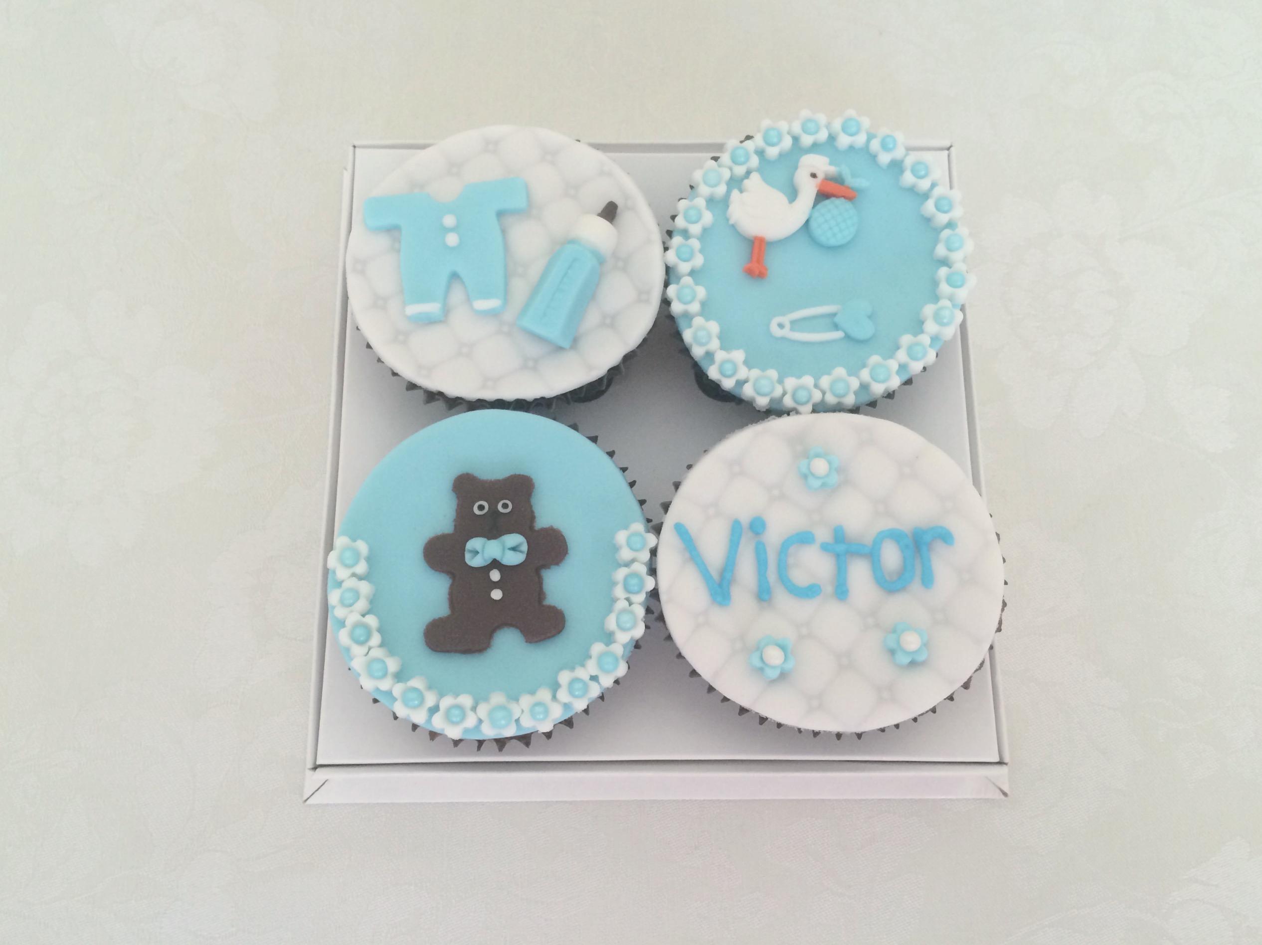 Cupcakes Chá de Bebê 2